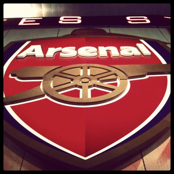 Big Arsenal badge in case you were wondering.