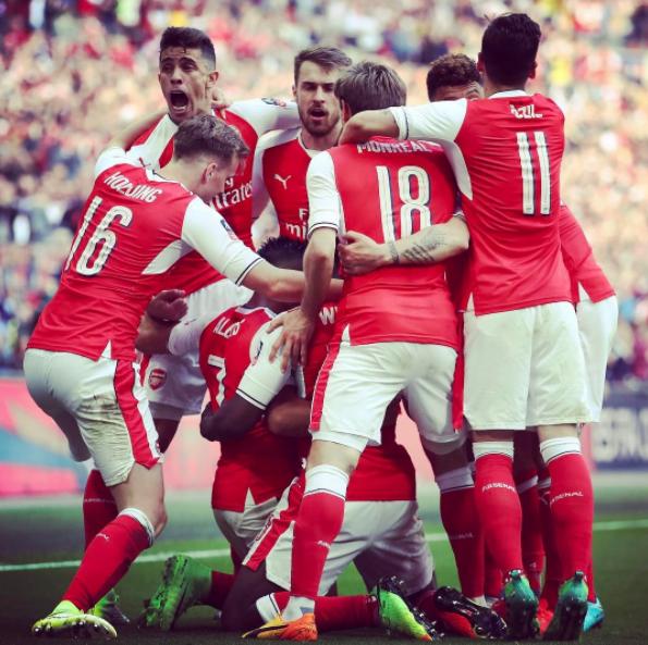 via @Arsenal instagram