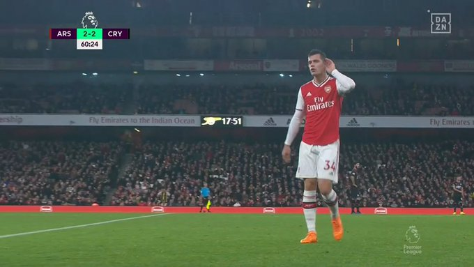 Xhaka captaincy is over. Great decision